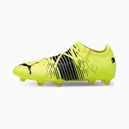 FUTURE Z 2.1 FG/AG Men's Football Boots, Yellow Alert- Black- White, small