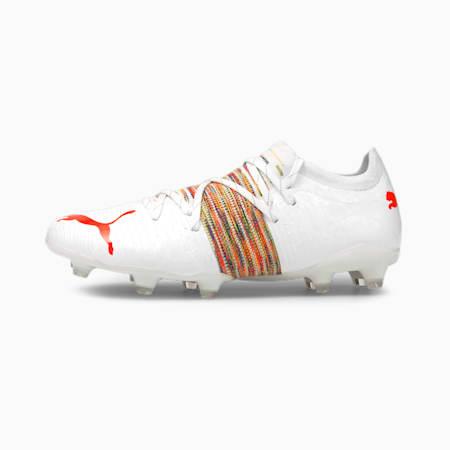 Scarpe da calcio FUTURE Z 2.1 FG/AG uomo, Puma White-Red Blast, small