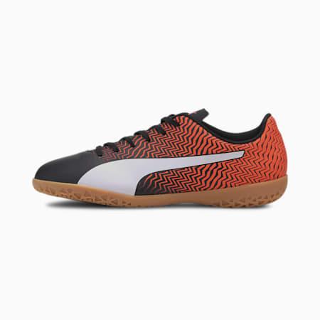 Rapido II IT Men's Soccer Shoes, Orange- Black-White-Gum, small