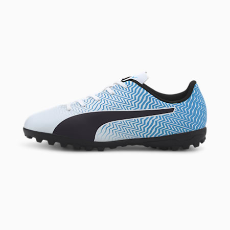 Rapido II TT Soccer Shoes JR, Luminous Blue-White-Black, small