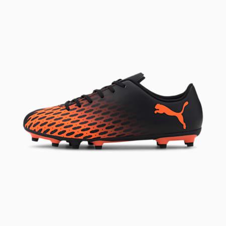 Spirit III FG Men's Football Boots, Puma Black-Shocking Orange, small-SEA