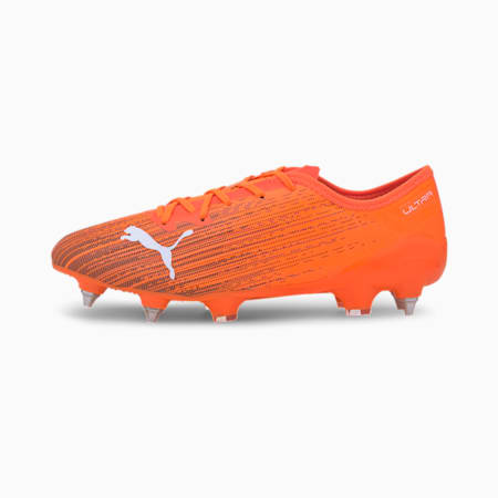 Męskie buty piłkarskie ULTRA 2.1 MxSG, Shocking Orange-Puma Black, small