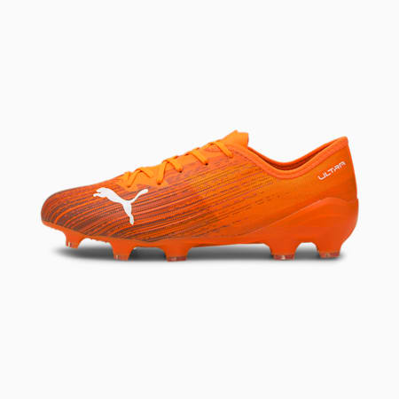 ULTRA 2.1 FG/AG Men's Football Boots, Shocking Orange-Puma Black, small