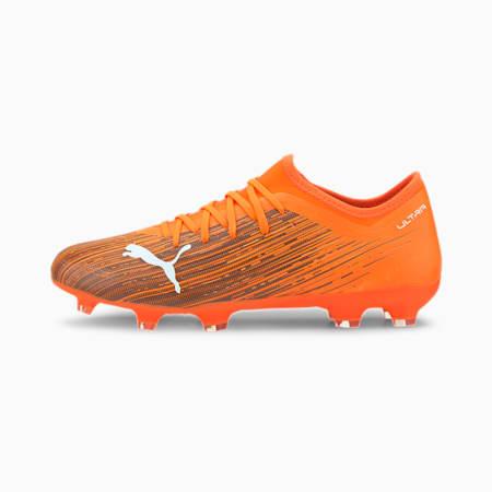Męskie buty piłkarskie ULTRA 3.1 FG/AG, Shocking Orange-Puma Black, small