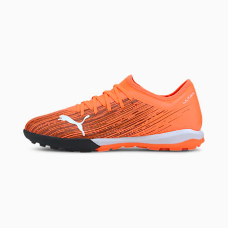 ULTRA 3.1 TT Men's Soccer Shoes, Shocking Orange-Puma Black, small