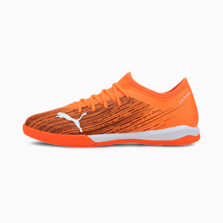 ULTRA 3.1 IT Men's Soccer Shoes, Shocking Orange-Puma Black, small