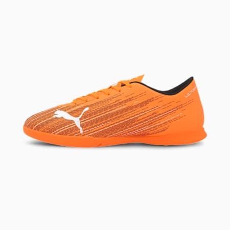 Męskie buty piłkarskie ULTRA 4.1 IT, Shocking Orange-Puma Black, small