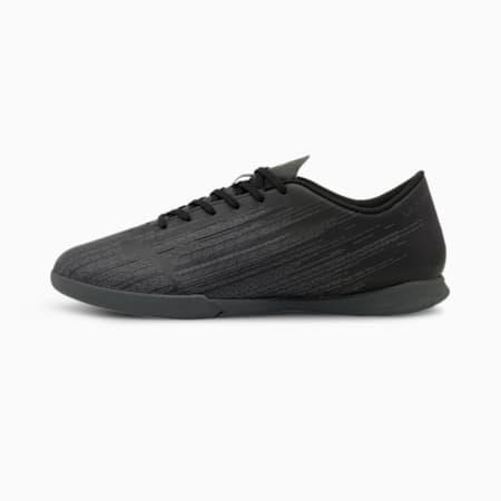 Botas de fútbol ULTRA 4.1 IT para hombre, Puma Black-Puma Black-Black, small