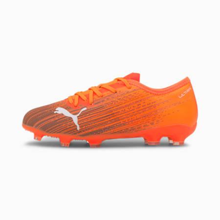 ULTRA 2.1 FG/AG Jugend Fußballschuhe, Shocking Orange-Puma Black, small