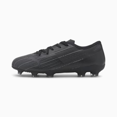 ULTRA 2.1 FG/AG Youth Football Boots, Puma Black-Puma Black- Black, small