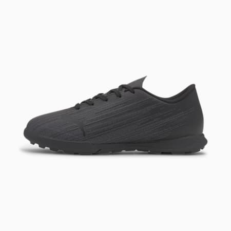 ULTRA 4.1 TT Soccer Shoes JR, Puma Black-Puma Black- Black, small