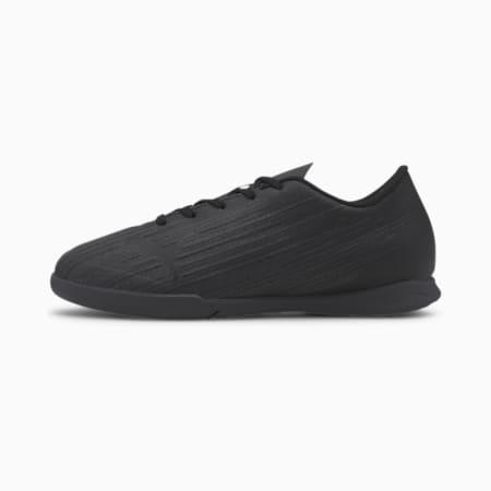 ULTRA 4.1 IT Soccer Shoes JR, Puma Black-Puma Black- Black, small