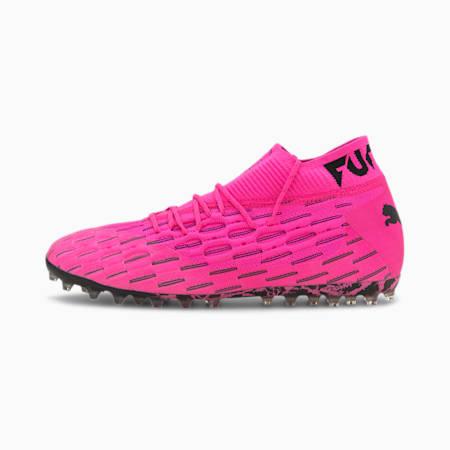 퓨쳐 6.1 넷핏 MG 축구화/FUTURE 6.1 NETFIT MG, Luminous Pink-Puma Black, small-KOR