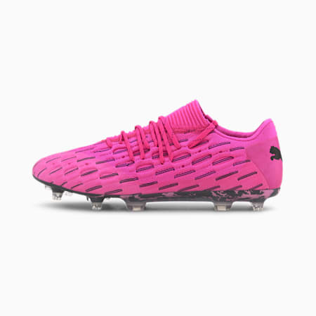 Future 6.1 NETFIT Low FG/AG Men's Football Boots, Luminous Pink-Puma Black, small
