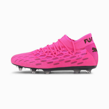 Future 6.2 NETFIT FG/AG Men's Football Boots, Luminous Pink-Puma Black, small-GBR