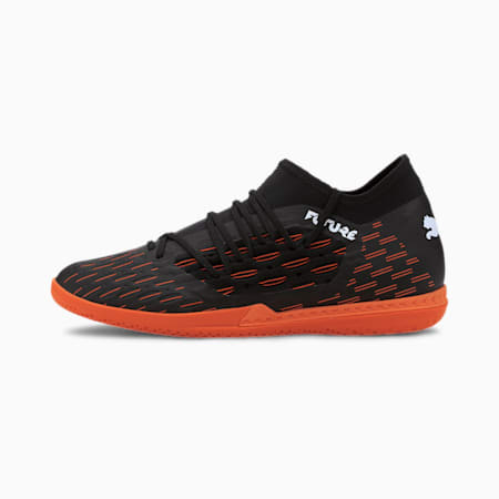 Scarpe da calcio Future 6.3 NETFIT IT, Black-White-Shocking Orange, small