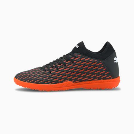 Future 6.4 TT Men's Football Boots, Black-White-Shocking Orange, small-IND