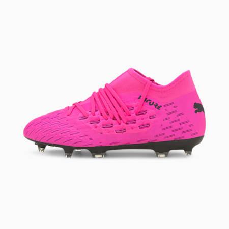 Future 6.3 NETFIT FG/AG Youth Football Boots, Luminous Pink-Puma Black, small