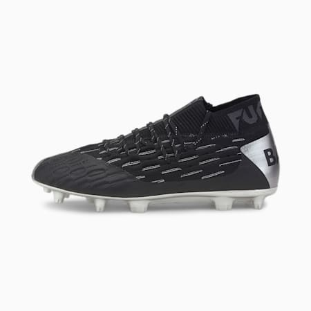 Chaussures de football PUMA x BALR Future FG/AG, Puma Black-Silver-Asphalt, small
