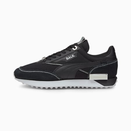 Basket PUMA x BALR Future Rider, Metallic Silver-Puma Black, small