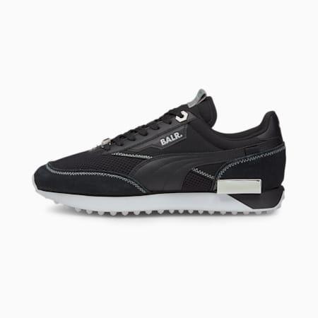 PUMA x BALR Future Rider Sneaker, Metallic Silver-Puma Black, small