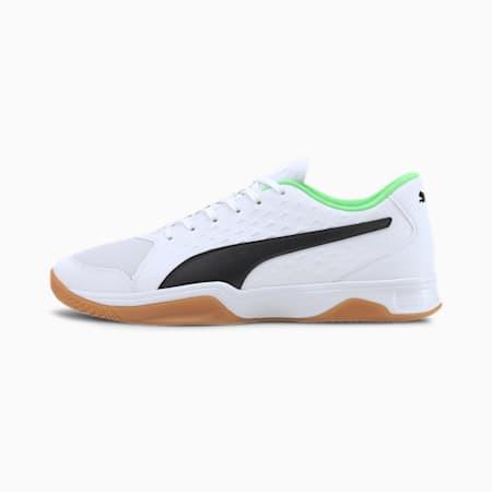 Buty do sportów halowych Explode 2, White - Black - Green - Gum, small
