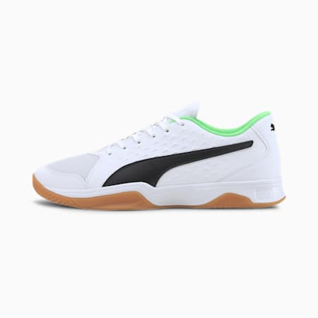 Explode 2 Indoor Sports Shoes, White - Black - Green - Gum, small