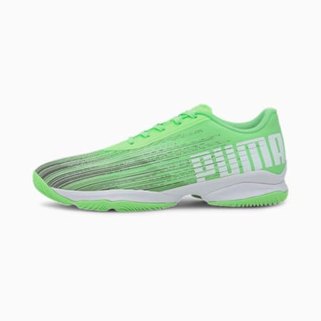 Adrenalite 2.1 Handball Shoes, Elektro Green-Black-White, small