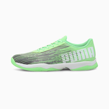 Adrenalite 3.1 Indoor sportschoenen, Elektro Green-Black-White, small