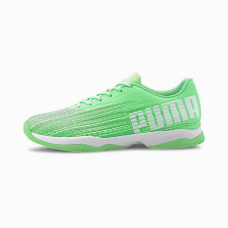Adrenalite 4.1 Indoor Sports Shoes, Elektro Green-White-Black, small-IND
