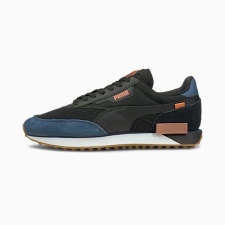 Future Rider Manchester City FC Sneakers, Copper-Denim-Black-Gum, small