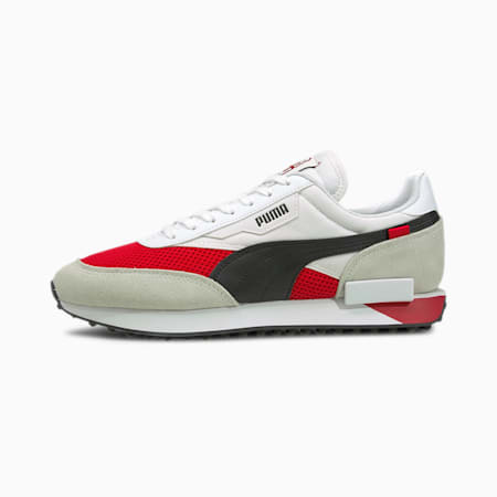 Future Rider AC Milan Sneakers, White-Tango Red -Black-Gum, small