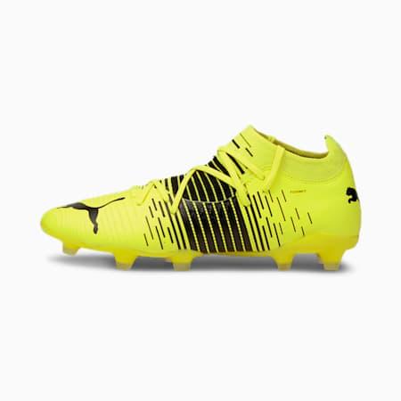 FUTURE Z 3.1 FG/AG voetbalschoenen heren, Yellow Alert- Black- White, small
