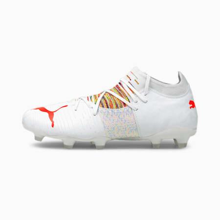 Męskie buty piłkarskie FUTURE Z 3.1 FG/AG, Puma White-Red Blast, small