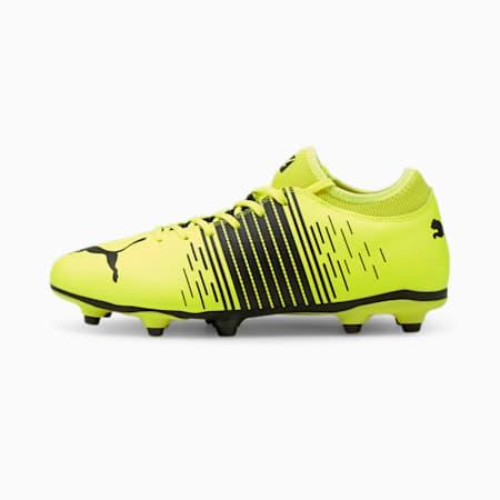 Męskie buty piłkarskie FUTURE Z 4.1 FG/AG, Yellow Alert- Black- White, small