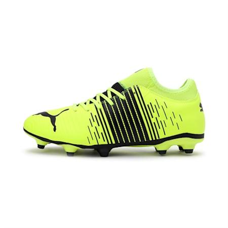 FUTURE Z 4.1 FG/AG Men's Football Boots, Yellow Alert-Puma Black-Puma White, small-IND