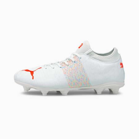 FUTURE Z 4.1 FG/AG Men's Football Boots, Puma White-Red Blast, small
