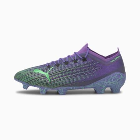 ULTRA 1.1 FEAR FG/AG Football Boots, Luminous Purple-Green-Black, small