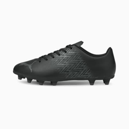 Botines de fútbol Tacto FG/AGpara hombre, Puma Black-CASTLEROCK, pequeño