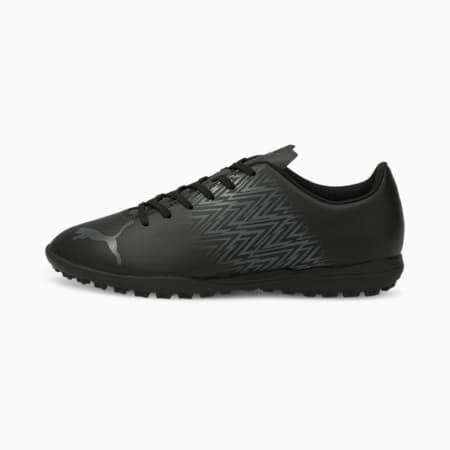 Zapatos de fútbol Tacto TT para hombre, Puma Black-CASTLEROCK, pequeño