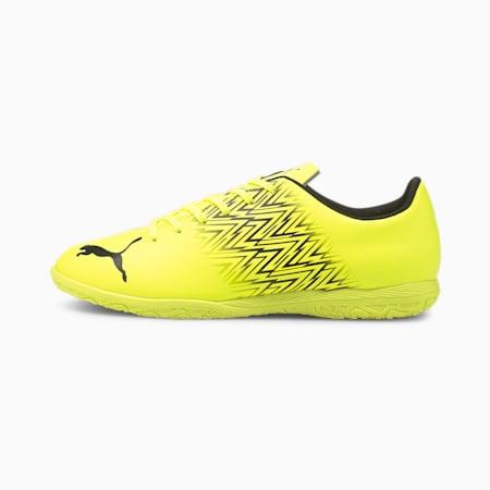 TACTO IT Men's Football Boots, Yellow Alert-Puma Black, small-IND