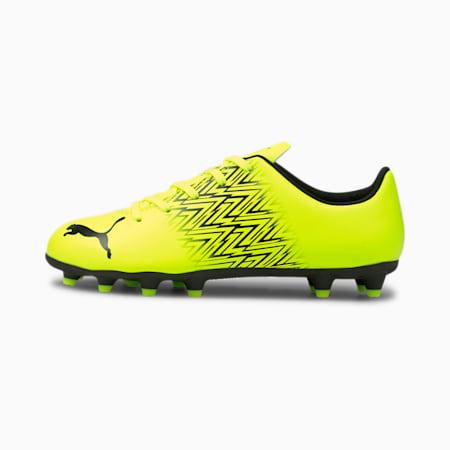 TACTO FG/AG Youth Football Boots, Yellow Alert-Puma Black, small