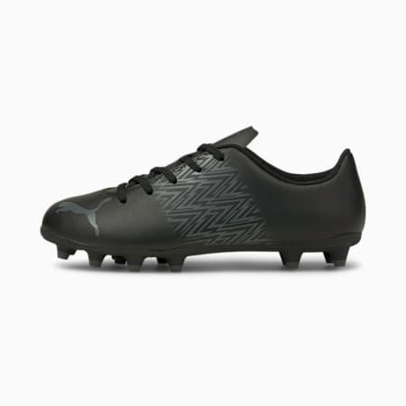 Souliers de soccer à crampons Tacto FG/AG, enfant, Noir Puma-CASTLEROCK, petit