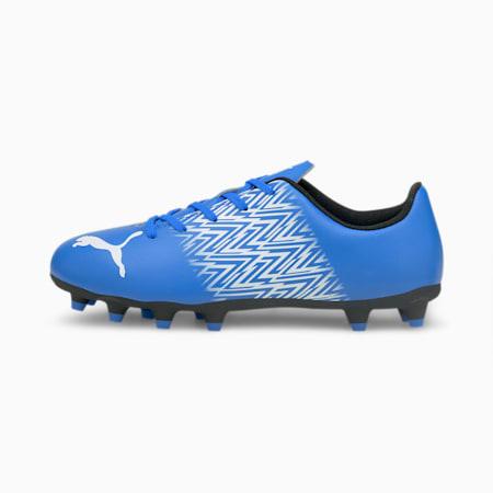 Botines de fútbol Tacto FG/AG JR, Bluemazing-Puma White, pequeño