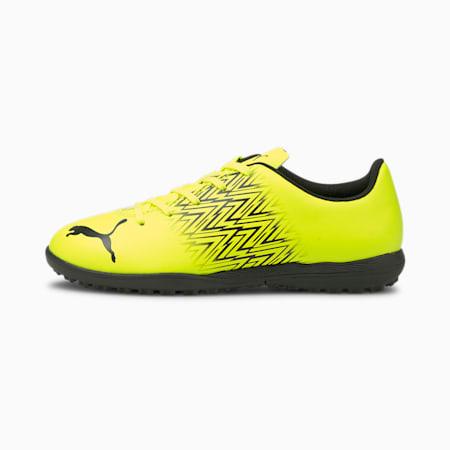 Zapatos de fútbol Tacto TT JR, Yellow Alert-Puma Black, pequeño