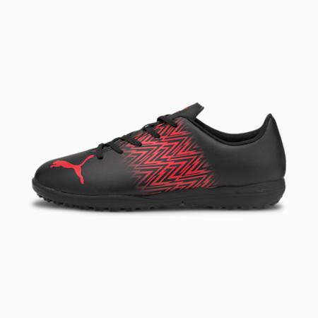 Zapatos de fútbol Tacto TT JR, Puma Black-Sunblaze, pequeño