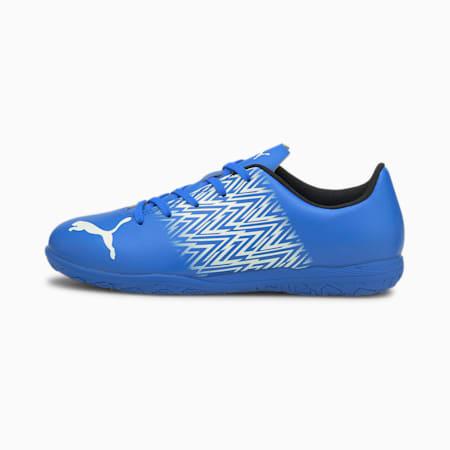 Zapatos de fútbol Tacto IT JR, Bluemazing-Puma White, pequeño