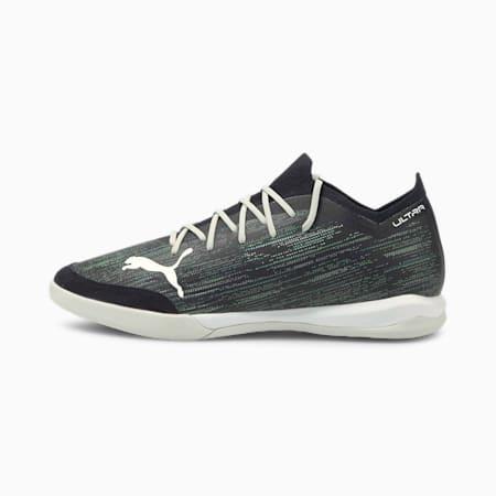 ULRA 1.2 Pro Court Men's Football Boots, Black-Gray-Green-Pool, small
