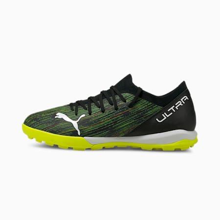 ULTRA 3.2 TT Men's Football Boots, Black-White-Yellow Alert, small-GBR