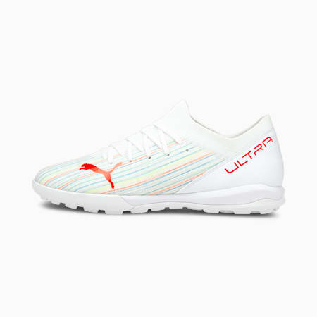 ULTRA 3.2 TT Men's Football Boots, Puma White-Red Blast-White, small-IND